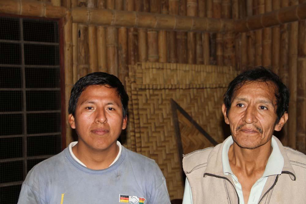 Ivan et Elias Quispe