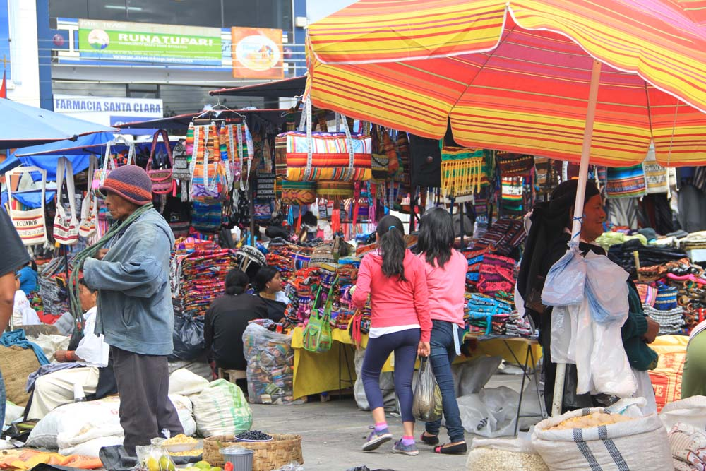 Marché de Otavalo